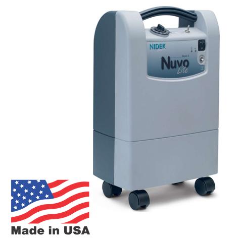 מחולל חמצן נייח 5 ליטרים Nidek – Nuvo Lite
