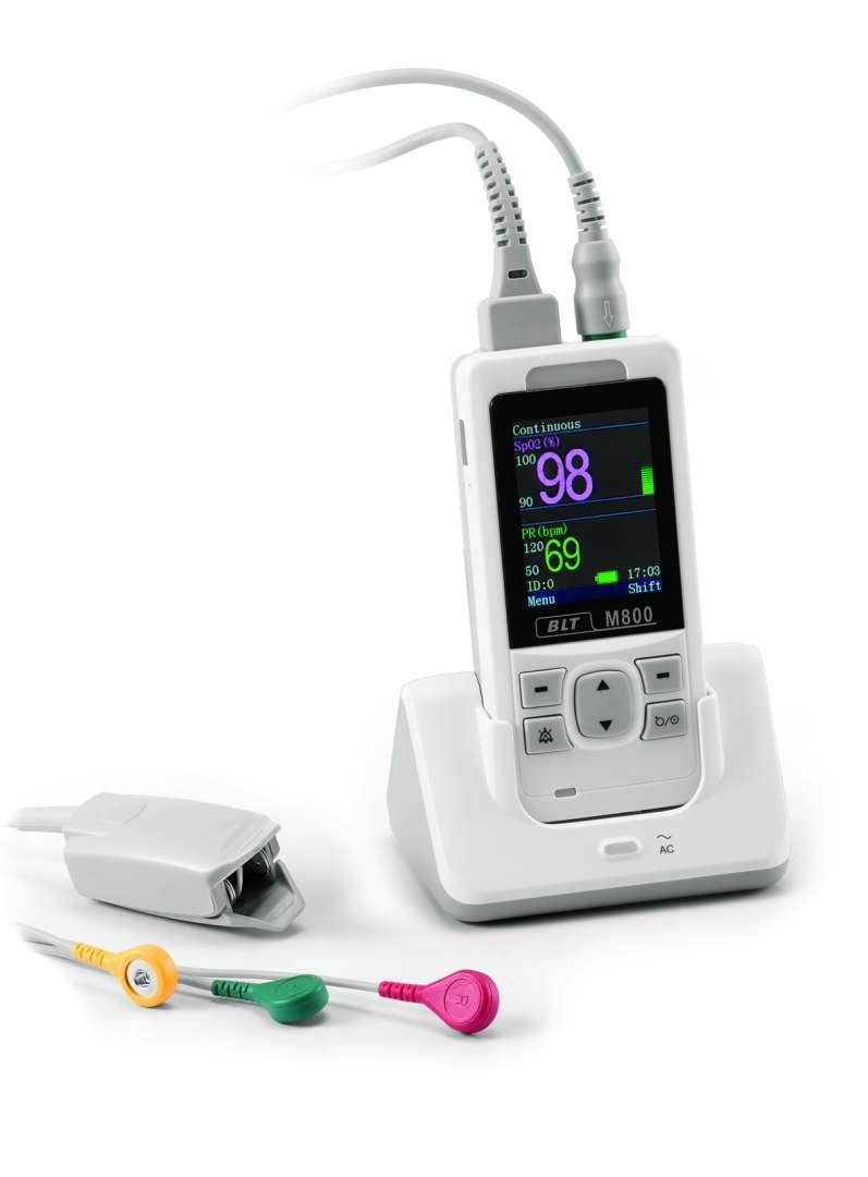 מד סיטורציה דגם M800 Nellcor מותאם לתינוקות