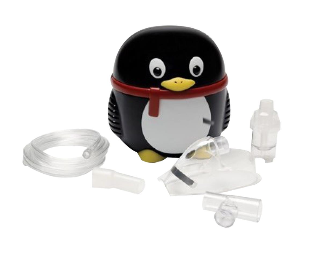 מכשיר אינהלציה ביתי לילדים דגם פינגווין